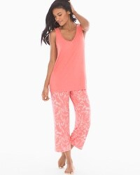 Cool Nights Tank/Crop Pants Pajama Set
