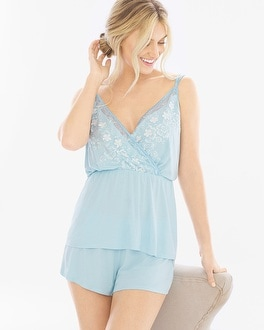 Sheer Luster Sleep Cami