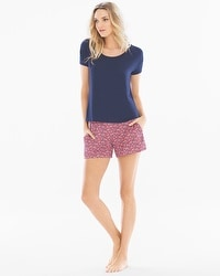Cool Nights Tee and Shorts Pajama Set