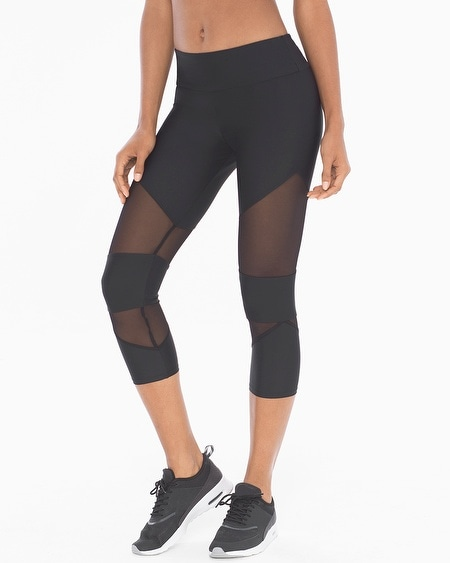 Cut Out Sport Capri Leggings