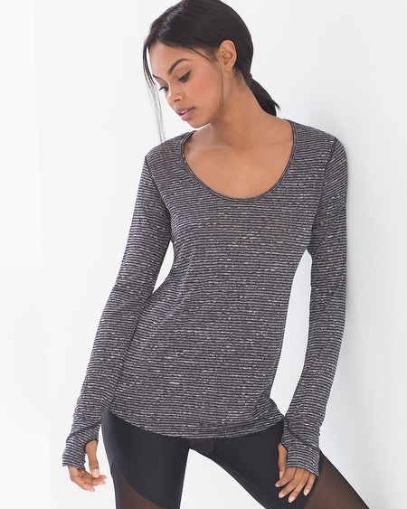 Wave Long Sleeve Top