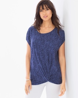 Soft Jersey Side Knot Tunic