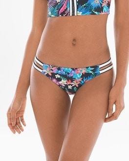 Profile Blush by Gottex Island Hopping Side Tab Bikini Bottom