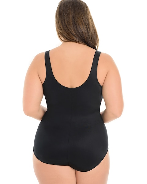 1f89a69e87b Return to thumbnail image selection Plus Size Night Lights Layered Escape  One Piece Swimsuit