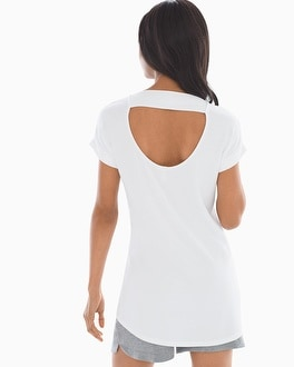Athleisure French Terry Tee Tunic