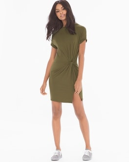X by Gottex Side Knot Short Dress