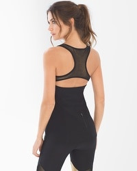 X by Gottex Back Zip Sport Tank
