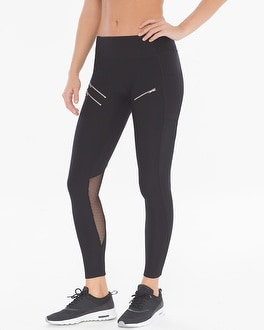 X by Gottex Back Mesh Insert Sport Leggings
