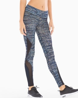 X by Gottex Diamond Mesh Sport Leggings