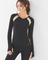 X by Gottex Long Sleeve Sport Top