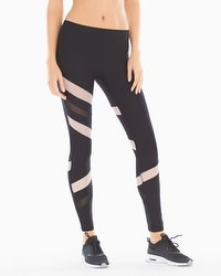 X by Gottex Diamond Mesh Blocked Sport Legging