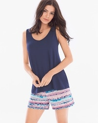 Cool Nights Tank with Shorts Pajama Set