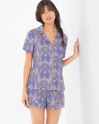 Bedhead Woven Cotton Classic Shorty Set