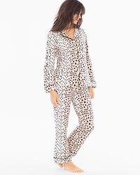 BedHead Knit Classic Cotton-blend Pajama Set