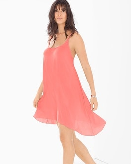 Elan Spaghetti Strap Cover Up Dress