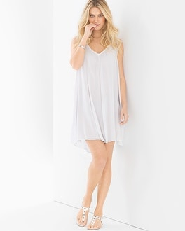 Elan A-line Cover Up Tank Dress