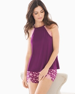 Cool Nights High Neck Pajama Cami