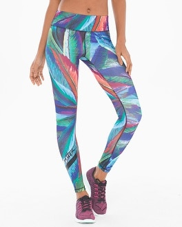 X by Gottex Printed Sports Leggings