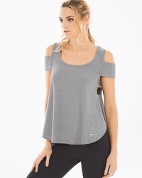 X by Gottex Cold Shoulder Top