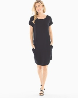 French Terry Tee Shirt Dress