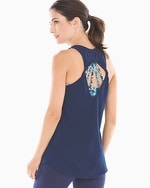 Athleisure Twist Back Tank