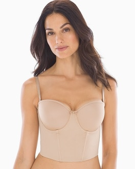 Soiree Low Back Convertible Bustier by Le Mystere