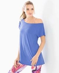 Athleisure Wide Neck Tunic