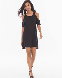 Elan Cold Sholder T-Shirt Dress