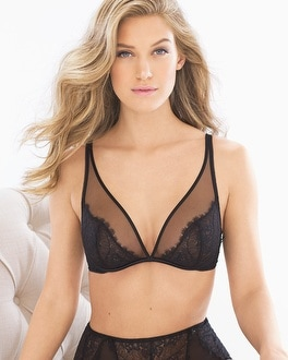 80adca6a30 Unlined Plunge Bra - Soma