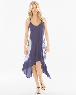 Elan Scarf Hem Coverup Dress