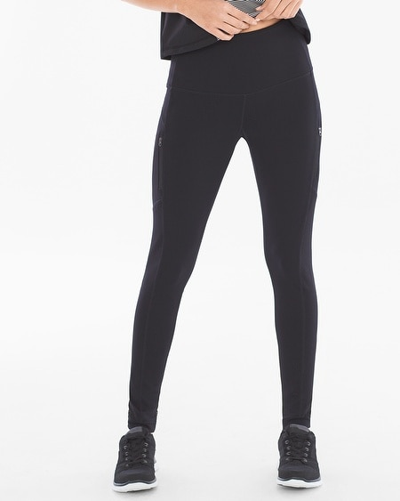 Mesh Sport Zip Leggings