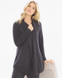 Barefoot Dreams Cozy Chic Coastal Cardi