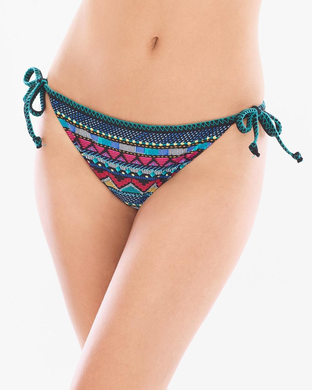 4fd2dfa863dbd Itza Maya Side Tie Swim Bottom - Soma
