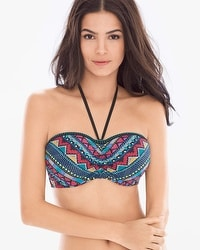 Profile Blush by Gottex Itza Maya Bandeau Swim Top