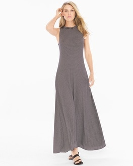 Elan High Neck Maxi Dress