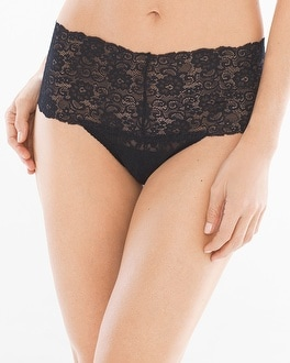 Allover Lace Retro Thong by Embraceable