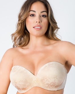 Strapless Multiway Push Up by Curvy Couture