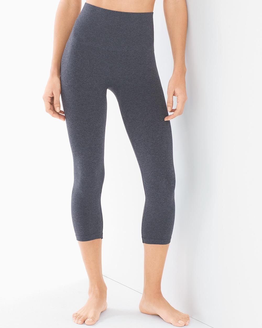 49be8918f828d Slimming Crop Leggings Heather Quartz - Soma
