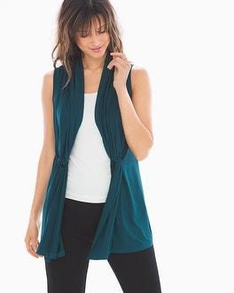 Sleeveless Vest Wrap by Soft Jersey