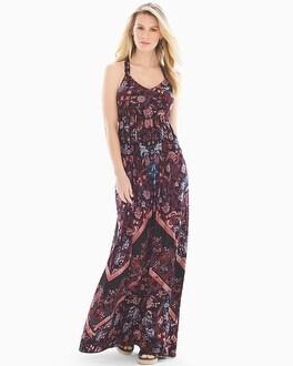 T Back Maxi Dress by Soft Jersey