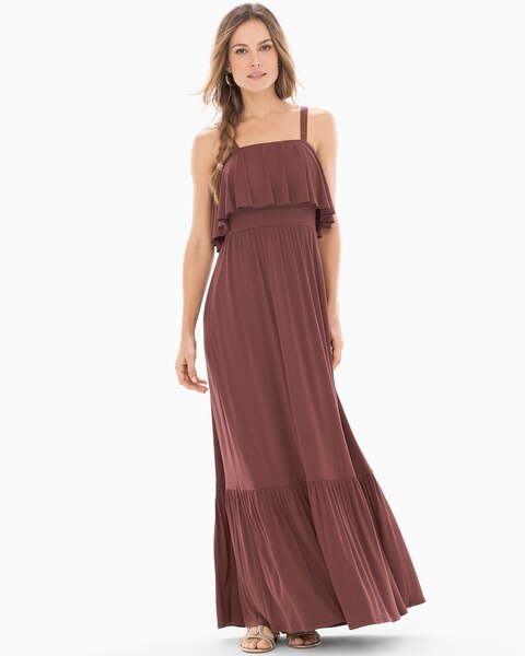 48cd6a4bbcc Tiered Maxi Dress - Soma