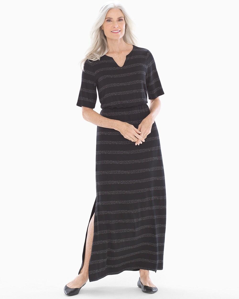 648f385e51d Elbow Sleeve Maxi Dress - Soma