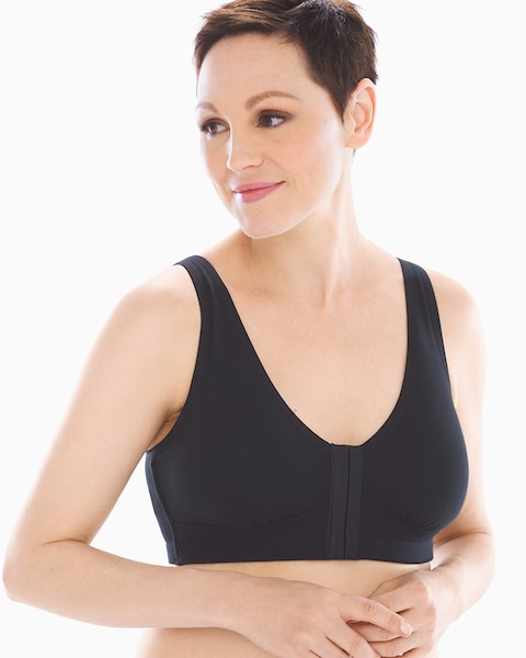 d54cef4ca6 Pocketed Front Closure Post Surgery Bra - Soma