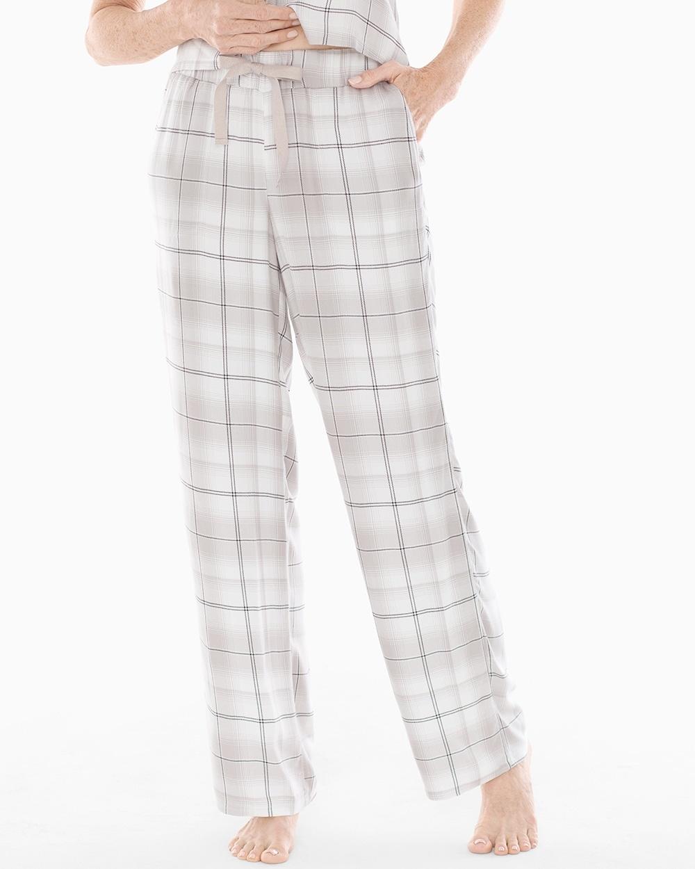 8b8bdfc672ce Pajama Pants Festive Plaid Opal - Soma