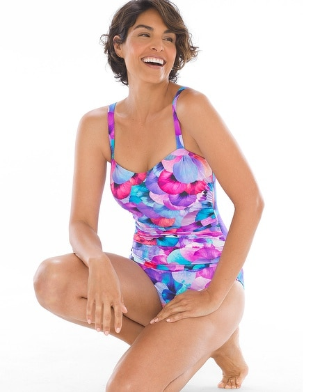 54ea5ccd4e6 Profile by Gottex Pocket Full of Posies DD Cup One Piece Swimsuit