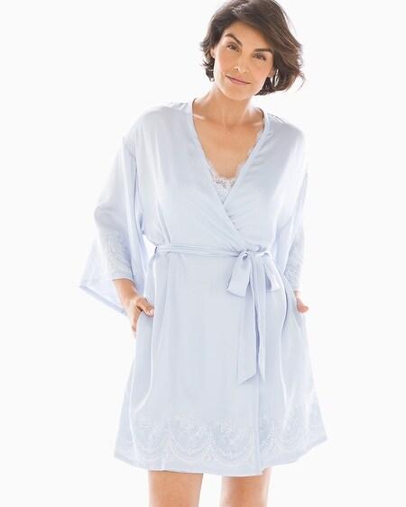 886d83857b1 Ornamental Lace Satin Robe Ocean Air