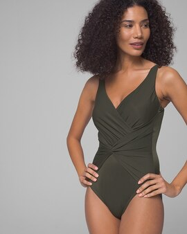 69e9b425e2 Miraclesuit Rock Solid Twist One Piece Swimsuit