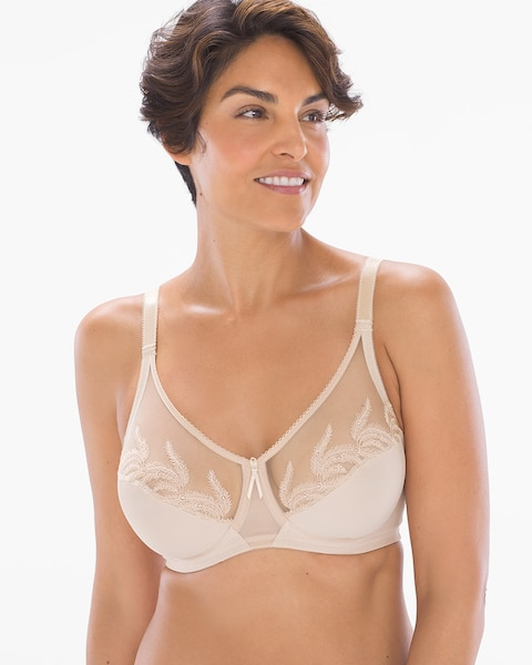 N Choose SZ//color Wacoal Women/'s Feather Embroidery Underwire Bra