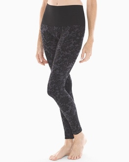 Slimming Legging Lace Tapestry Black