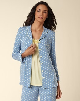 Embraceable Cool Nights Big Dot Wishful PJ Top